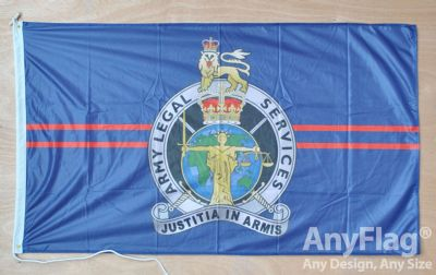 -ARMY LEGAL SERVICES BRANCH  ANYFLAG RANGE - VARIOUS SIZES